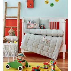 Вечерние детские кроватки, постельное белье-бампер, набор для мальчиков и девочек, детская кроватка с мультяшными животными, хлопок, мягкая,...