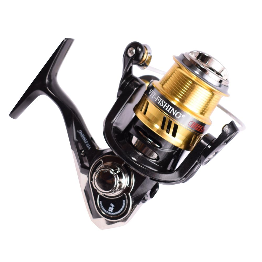 SR22 Fishing Reels Spinning All For Fishing Accessories Tackle Reel Braid Fishing Line Lure On щуку