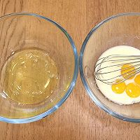 """#美食说出""""新年好""""#红豆沙戚风蛋糕卷的做法图解5"""