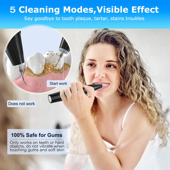 A device for removing tartar. Teeth whitening 2