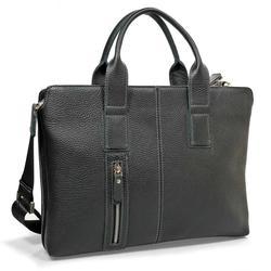 Briefcase male pellecon genuine leather
