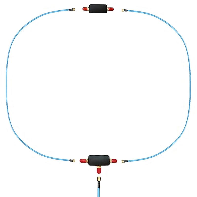 Youloop antena magnética portátil passiva, para hf e vhf