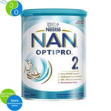 НАН 2 Оптипро сухая молочная смесь 800г