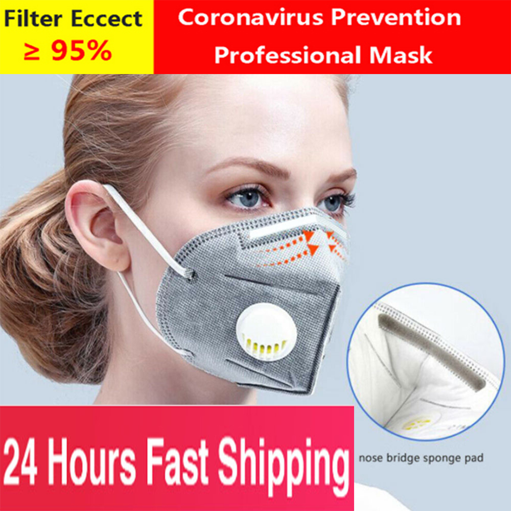 10PCS Filter Mask Respirator Washable And Reusable Dust Mask Stylish Anti-pollution PM 2.5 Mask PK Ffp3 Fpp3 FPP2 FFP2