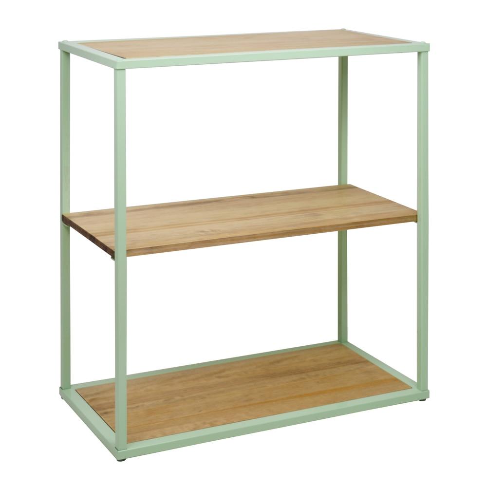 Shelf ICub Up Limited Edition-80X40X90 Cm-3-Vintage Effect-Mint Green