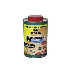 Klej PVC Wolfpack z pędzelkiem 1000 cm³ -