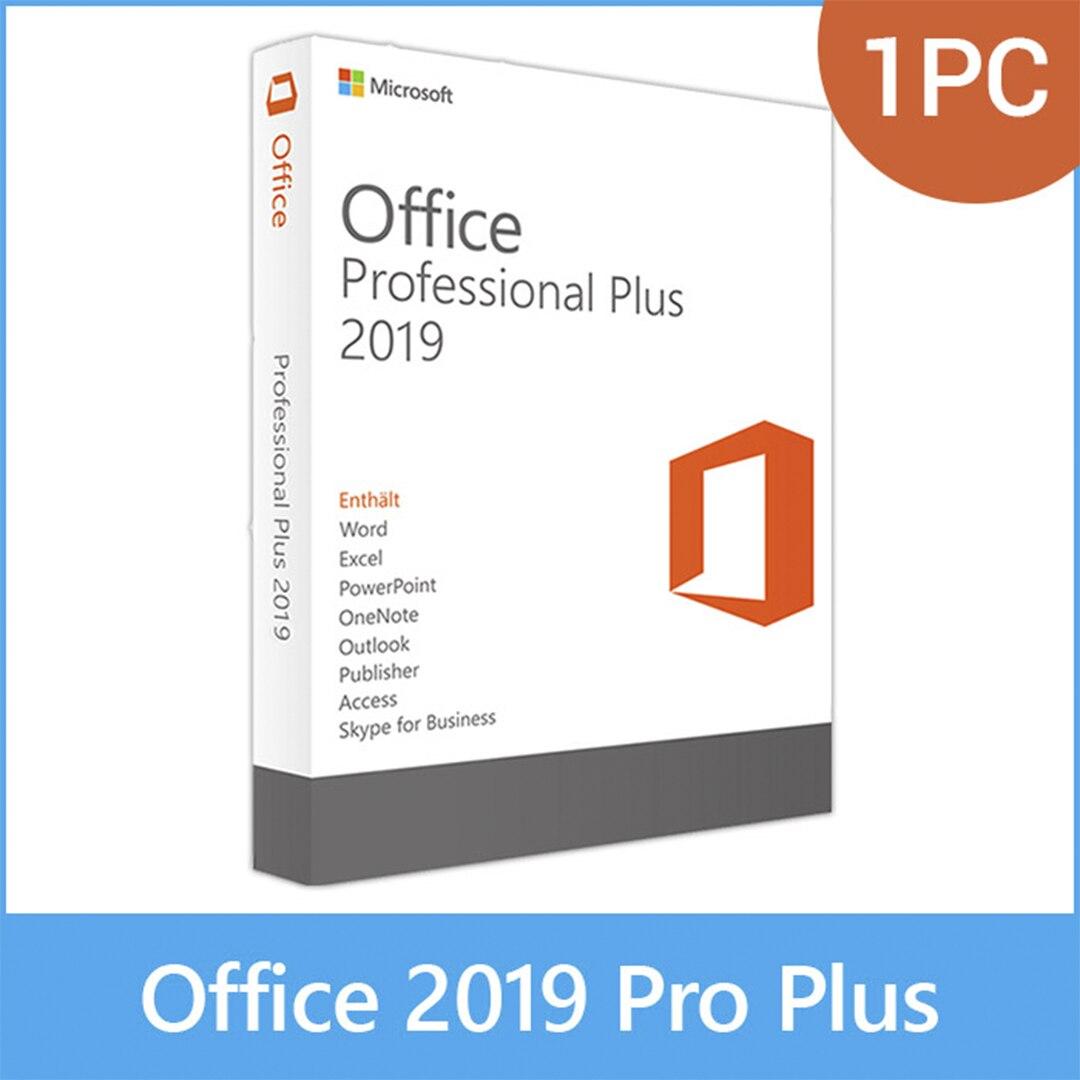 Microsoft Office 2019 Pro Plus для Windows и макбука Office 365 ваша учетная запись с лицензионным ключом для Windows и MacOS