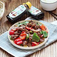 蚝油双椒牛肉的做法图解7