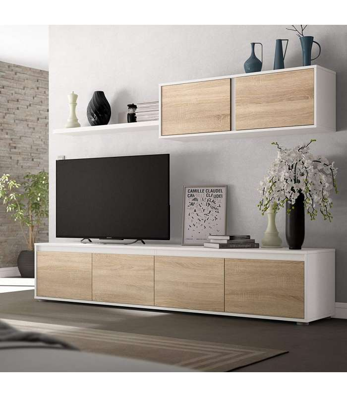 Furniture Lounge Alida Oak Canadian And White Artik.
