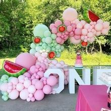 Wayfun Avocado Green Balloon Garland Arch Birthday Party Decoration Kids Baby Shower Wedding Valentine Party Balloon Supplies