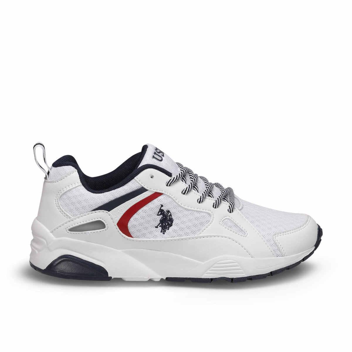 """פלו ברלינגו לבן נשים של נעל נעלי ארה""""ב פולו ASSN."""