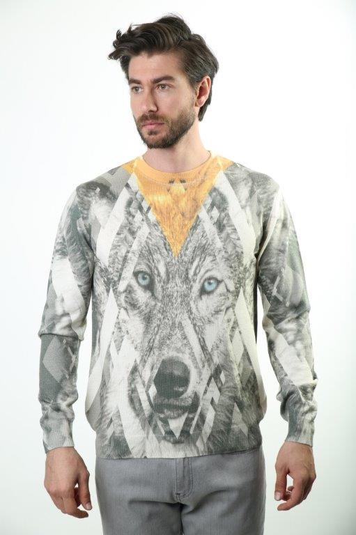 Sweater Bike Collar Men 'S Sweater SW-BASKILI