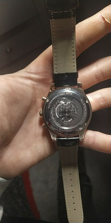 -- Tourbillon Relógio Mecânico
