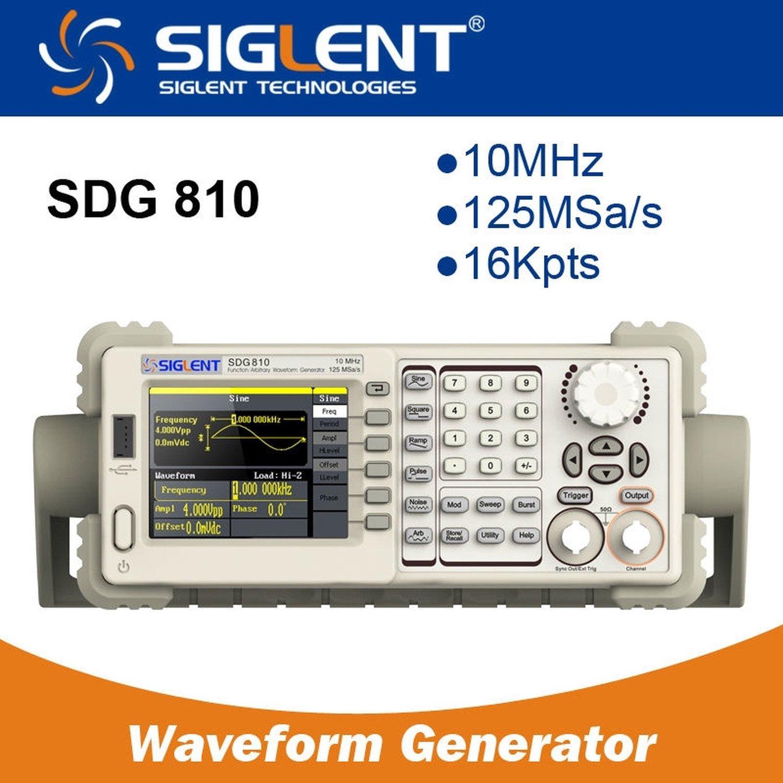 Function/Arbitrary Waveform Generator SIGLENT SDG810 10MHZ стоимость