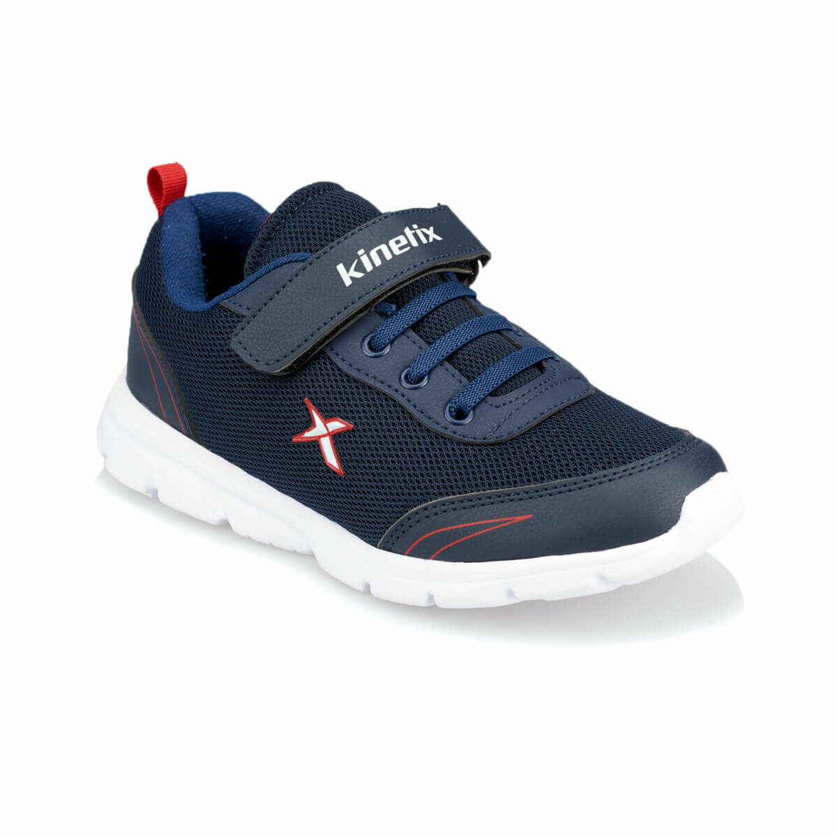 FLO YANNI Navy Blue Male Child Hiking Shoes KINETIX