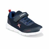 Flo yanni azul marinho masculino criança caminhadas sapatos kinetix|Tênis| |  -