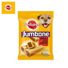 Лакомство для собак Pedigree Jumbone mini с говядиной, 180г