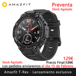 Amazfit T-REX exclusive launch Presale will ship the days 15 February Smart watch sports outdoor [Global Version]