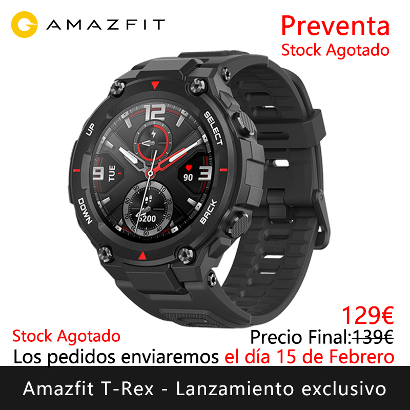 Amazfit T-REX exclusive launch Presale will ship the days 15 February <font><b>Smart</b></font> <font><b>watch</b></font> sports outdoor [Global Version] image