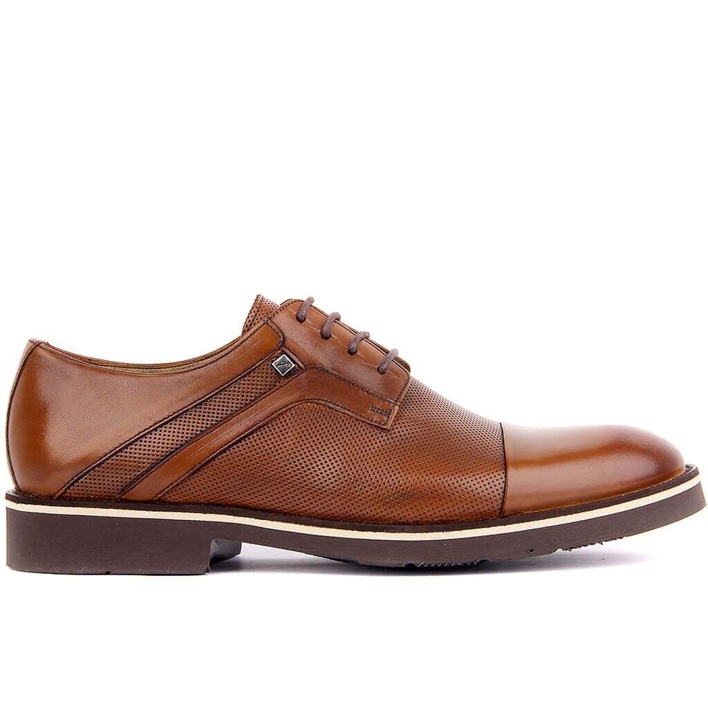 Fosco-Tan Leather Eva Men 'S Daily Casual Shoes