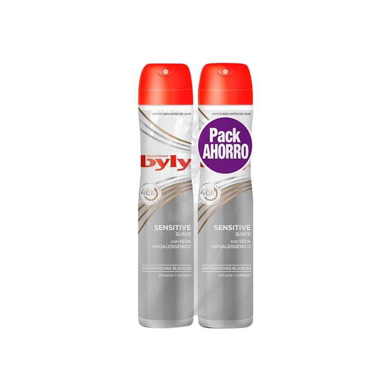 Deodorant Spray Sensitive Soft Byly (2 Pcs)