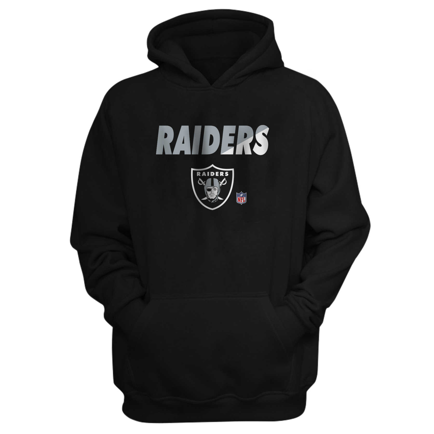 Oakland Raiders Moletom Com Capuz