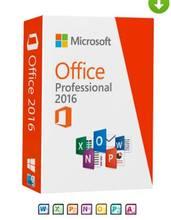 Clé de vente au détail Ms office 2016 Pro, 1 utilisateur, multilingue, livraison gratuite