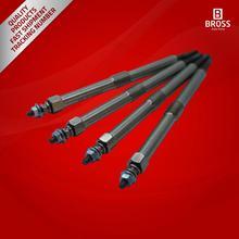 Bross BGP69-1 4 Stück Heizung Glow Stecker 12 Volt für Perkins 2666A016 1103 1104 1106