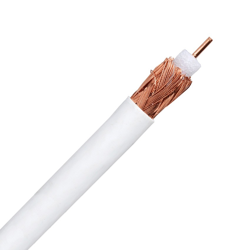 50m Coaxial Cable RG6 Copper-Copper Antenna TV