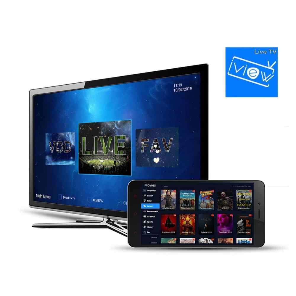 Iview HD IPTV Berlangganan Paling Stabil IPTV UK Germany Amerika Serikat Cypus Yunani Live/VOD 2000 + Saluran Gratis Trail di Android Kotak