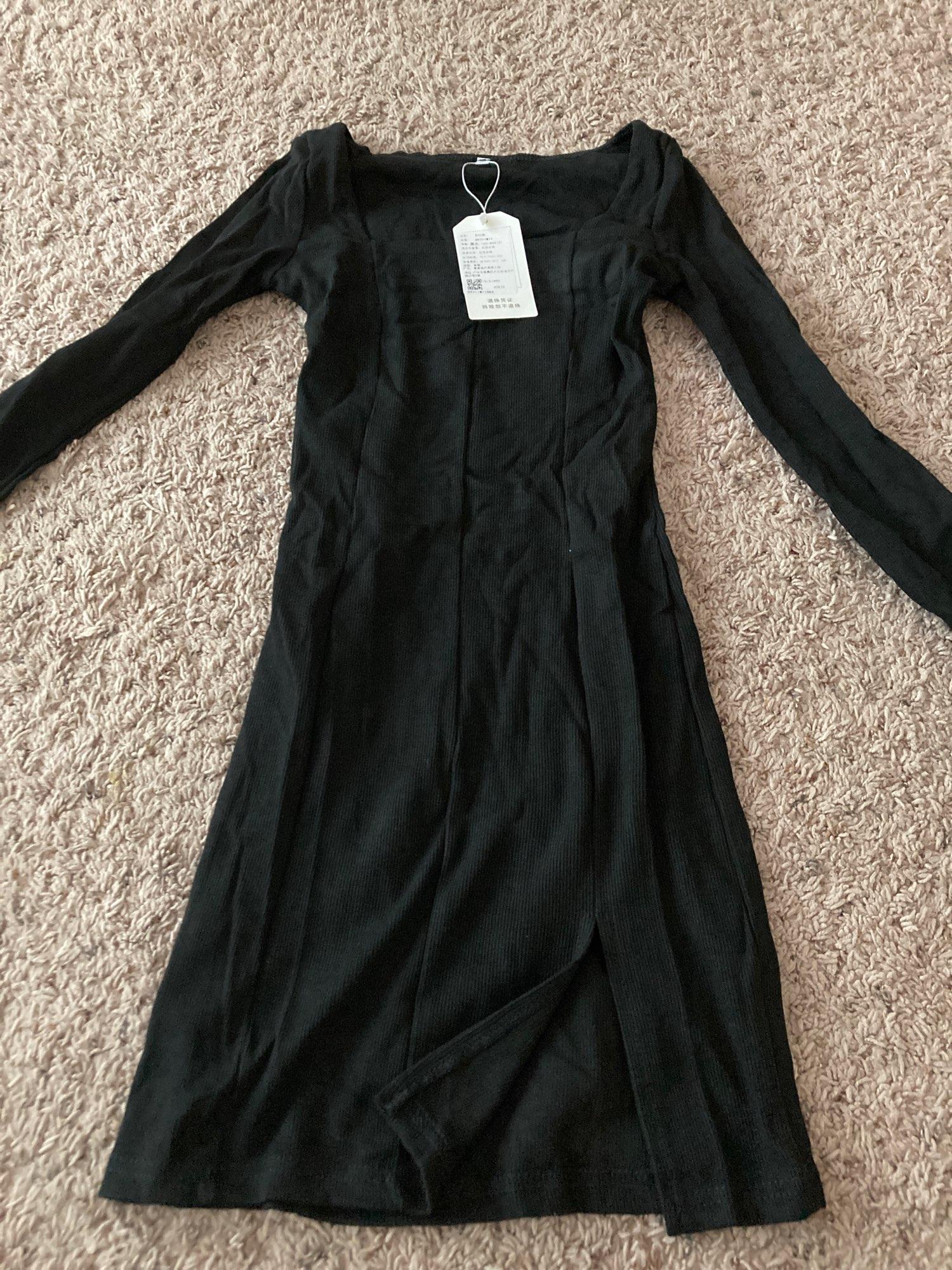 SUCHCUTE velvet women dress bodycon Modis soild Autumn Winter 2020 elegent split Femme Dresses party long sleeve gothic clothes|Dresses|   - AliExpress