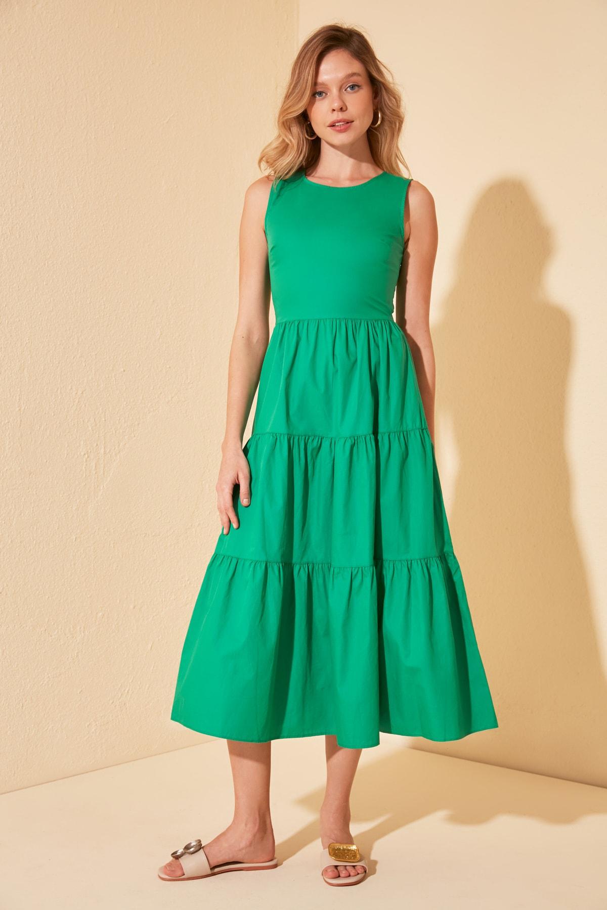 Trendyol Basic Dress TWOSS20EL1370