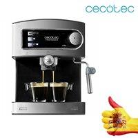 Cecotec Presión 20 Máquina Bares de Café Expresso Italiana Cafeteira Espresso con Doble con Salida Vaporizador Orientável para Lec|Cafeteiras| |  -