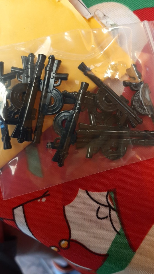 10PCS/lots Military WW2 M1915 Machine Gun MOC Model Building Blocks figures Toys For Children SWAT Army Weapon Militarys Locking photo review