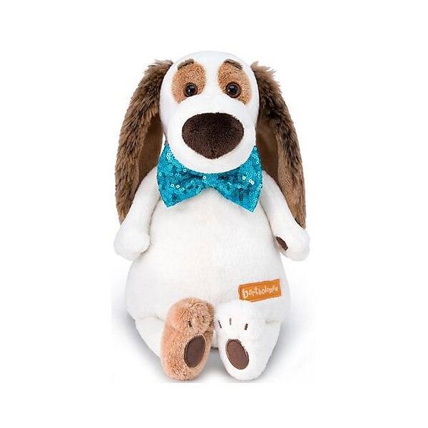 Soft Toy Budi Basa Dog Бартоломей In Tie-butterfly In пайетках, 27 Cm MTpromo