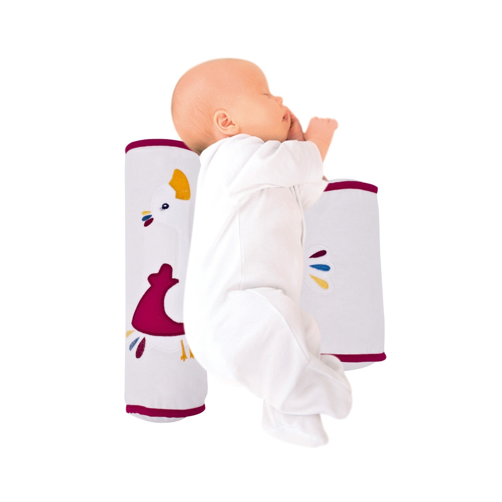 Ebebek Sevi Bebe Embroidered Baby Happy Sleeping Pillow
