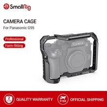 SmallRig G95 Gaiola Câmera Dslr Gaiola para Panasonic G95 Com Sapato Frio Montar & Trilhos DA NATO a Gravação de Vídeo de Liberação Rápida gaiola 2446