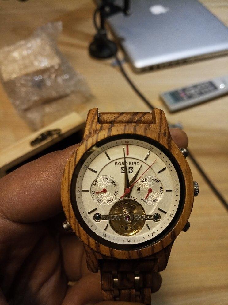 -- Relógio Madeira Pássaro
