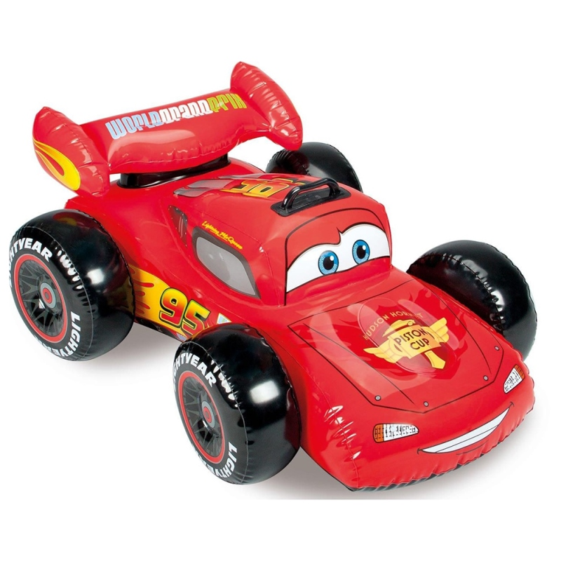 Intex Machine Inflatable, Age 3 +, 109 х84см, Cars