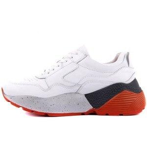 Image 3 - شراع ليكرز جلد أبيض المرأة أحذية رياضية غير رسمية