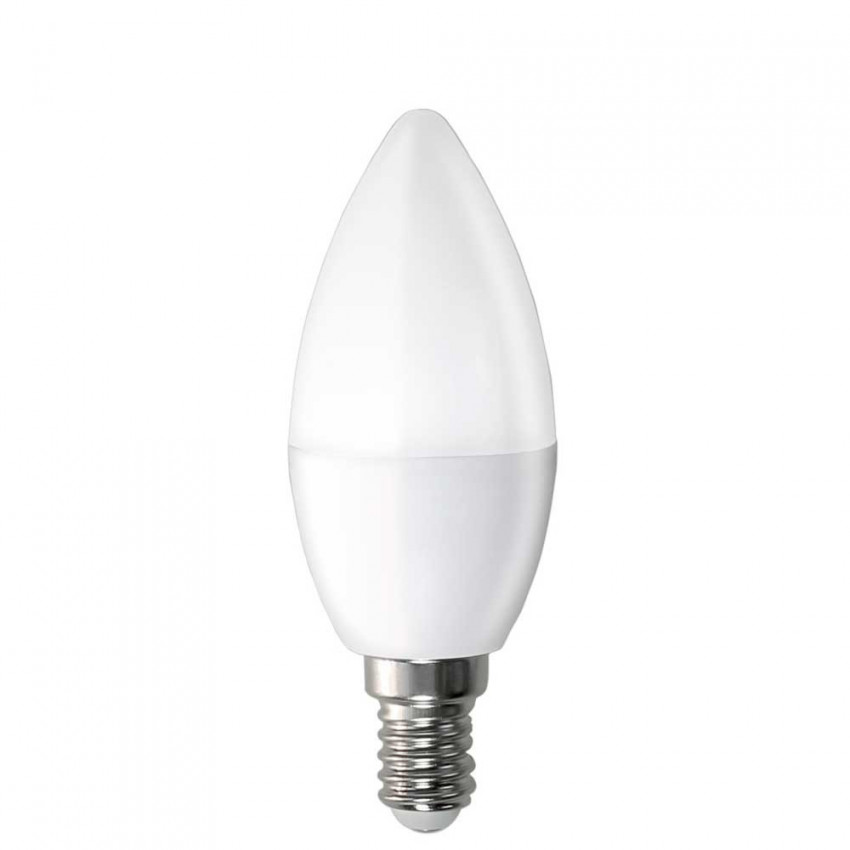 LED Candle Bulb E14 6W Equi.40W 470lm 15000H 1Primer Low Cost