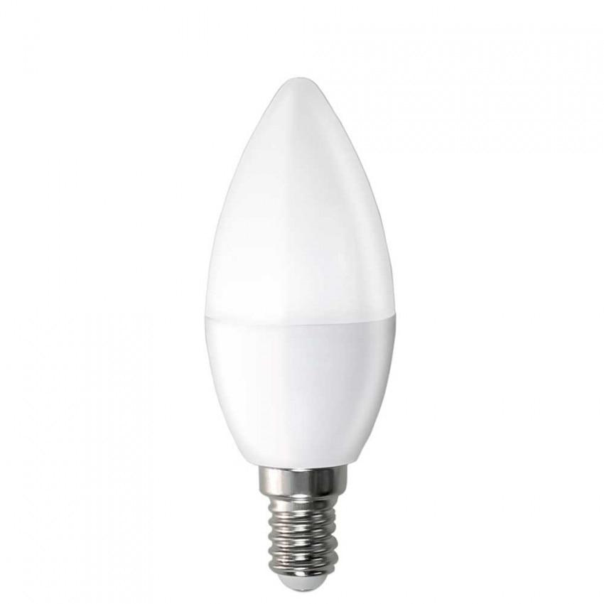 LED Candle Bulb E14 6W Equi.40W 470lm 15000H 5200K