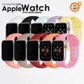 Ремешок совместимый с Apple Watch iWatch Series 5/4/3/2/1 38 мм 42 мм, спортивный ремешок siciccona, резиновый ремешок для смарт-часов