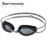 Spor ve Eğlence'ten Yüzme Gözlük'de Barracuda Dr. B Optik Miyopi yüzme gözlükleri Anti sis UV Koruma yüzücü gözlükleri Su Geçirmez Kadınlar için Erkekler #2195 Gözlük