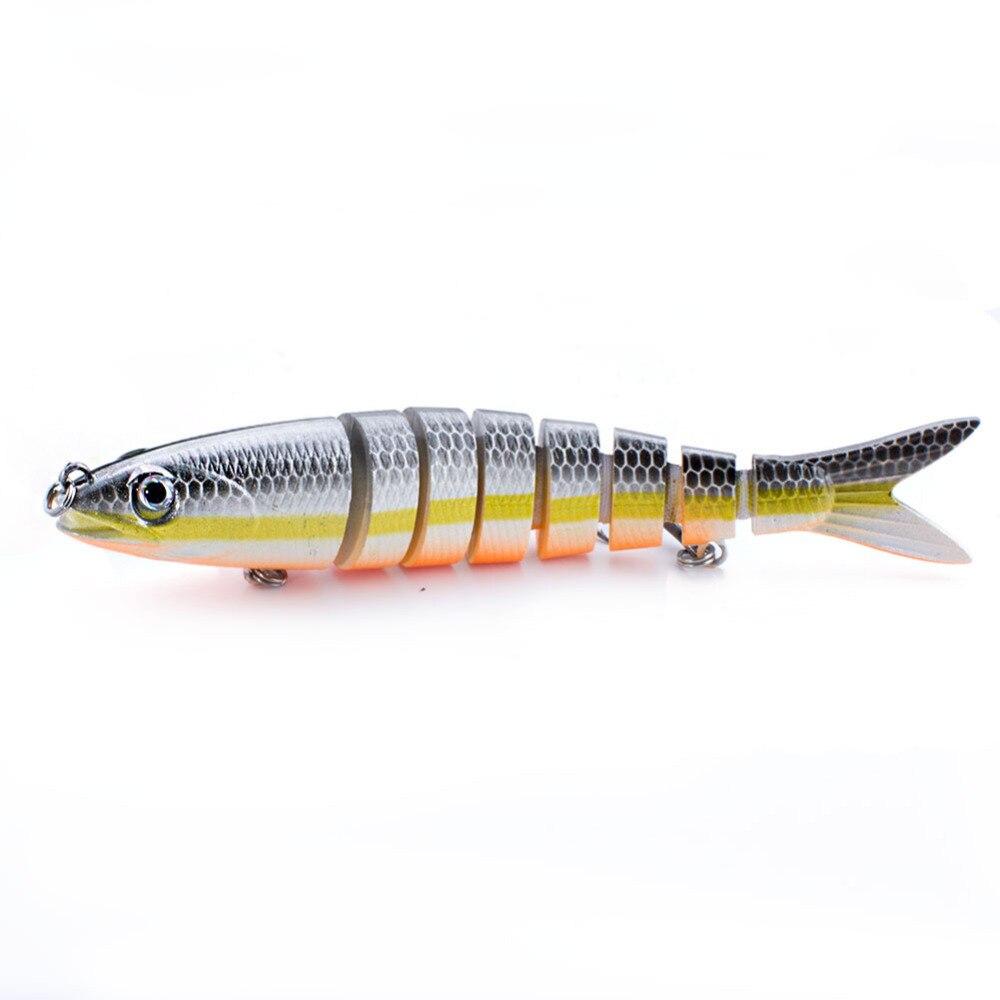 Купить рыболовные приманки наживки шарнирный кренкбейт свимбейт 8 сегментов