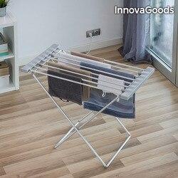 InnovaGoods Faltbare Elektrische Kleidung Pferd 120W Grau (8 Bars)