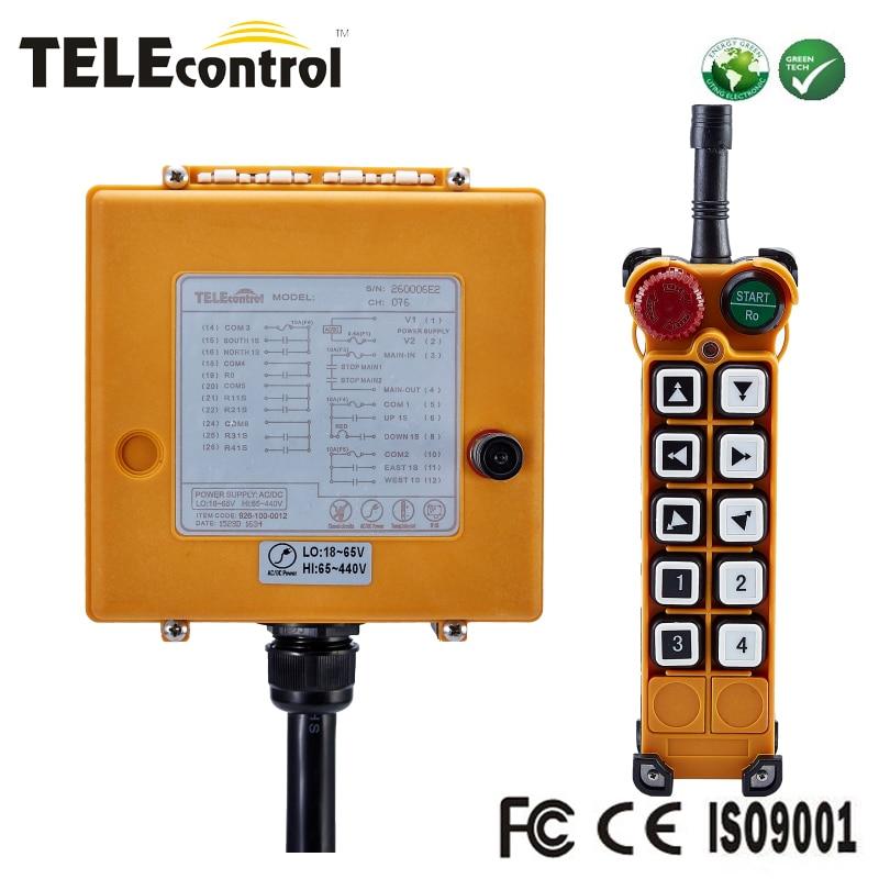 Telecontrol 10 keys two steps ...