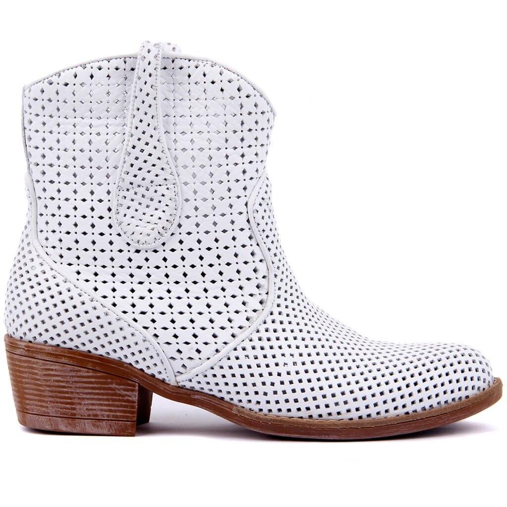 Sail-Lakers en cuir véritable femmes bottes printemps été femme bottines femmes dames chaussures décontractées sans fermeture éclair rétro bloc évider respirant sans lacet talon bas taille 36-40 zapatos de mujer ооеееесесеееееная