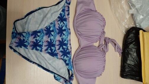 Women Swimsuit Frilled Textured Strapless Bikini Set Women's Swimwear Padded Low Waist Ruffle Bandeau Bikini short Swimming Suit|Bikini Set|   - AliExpress