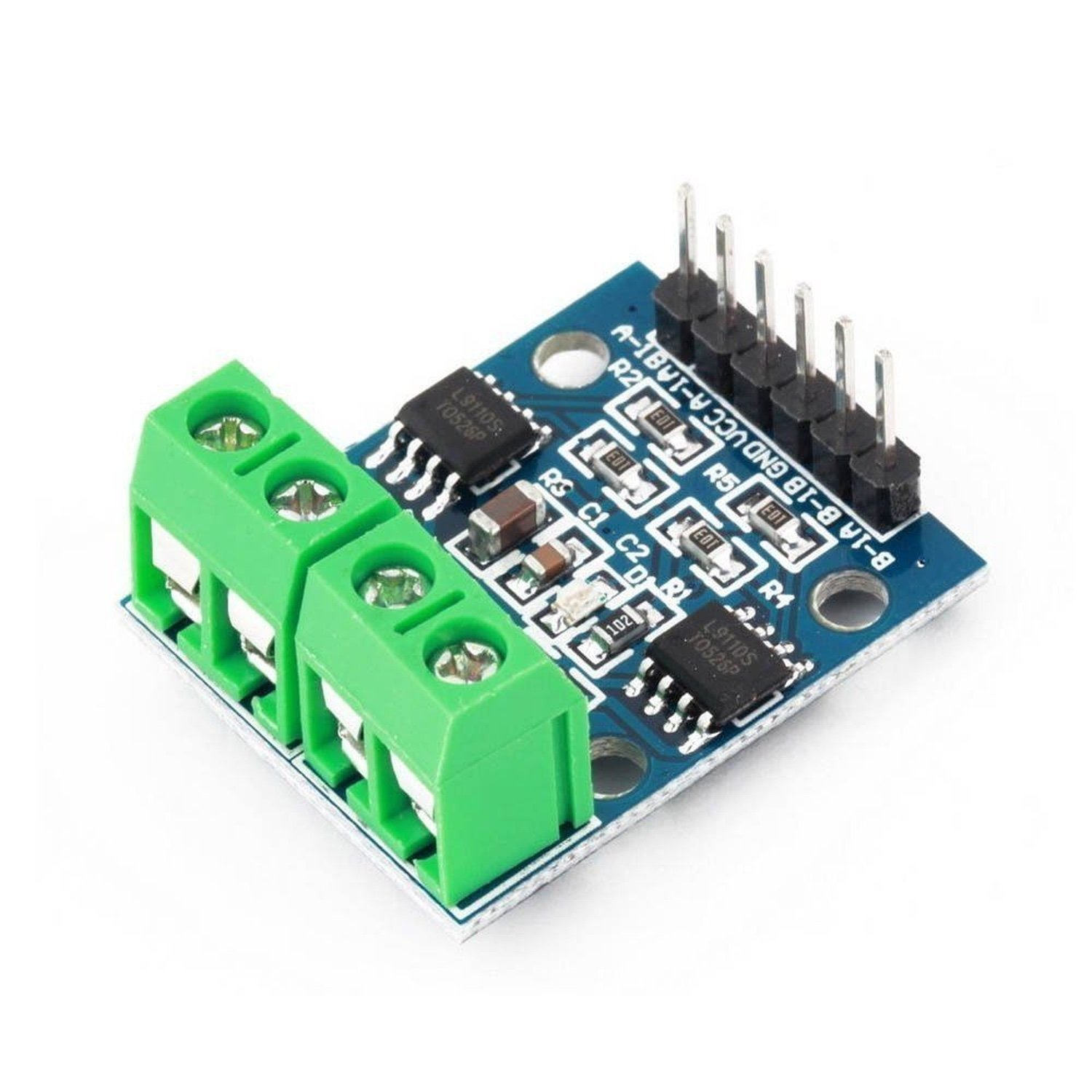 L9110S H-Bridge Stepper Engine Dual DC engine Driver Controller Board for Arduino цена и фото
